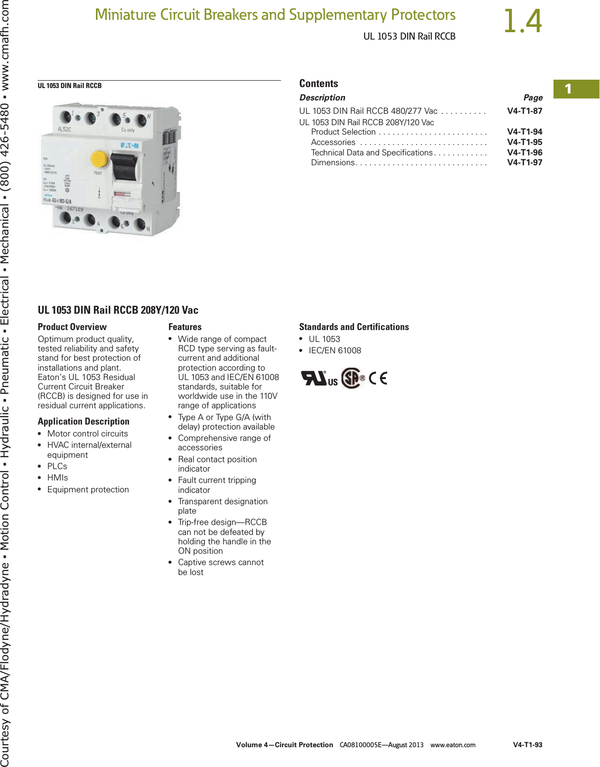 Eaton Rccb 152183 Catalog 1 Wiring Diagram Page 7 Of 12