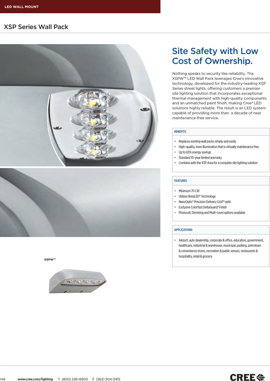 Cree_LED_Lighting_Catalog 156972 Catalog on