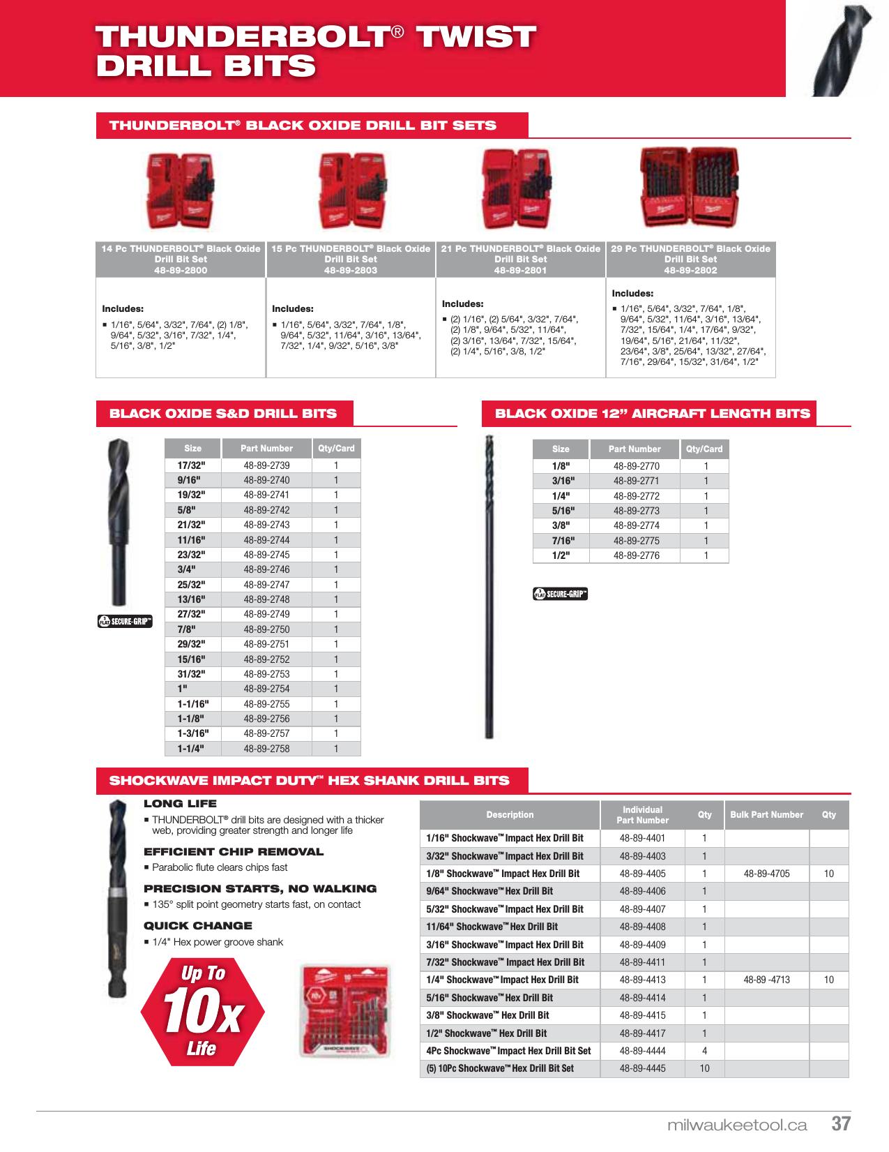 "SDS Plus MILWAUKEE 48-20-7411 2-Cutter Hammer Drill Bit 3//16/"" x 6.000/""L"