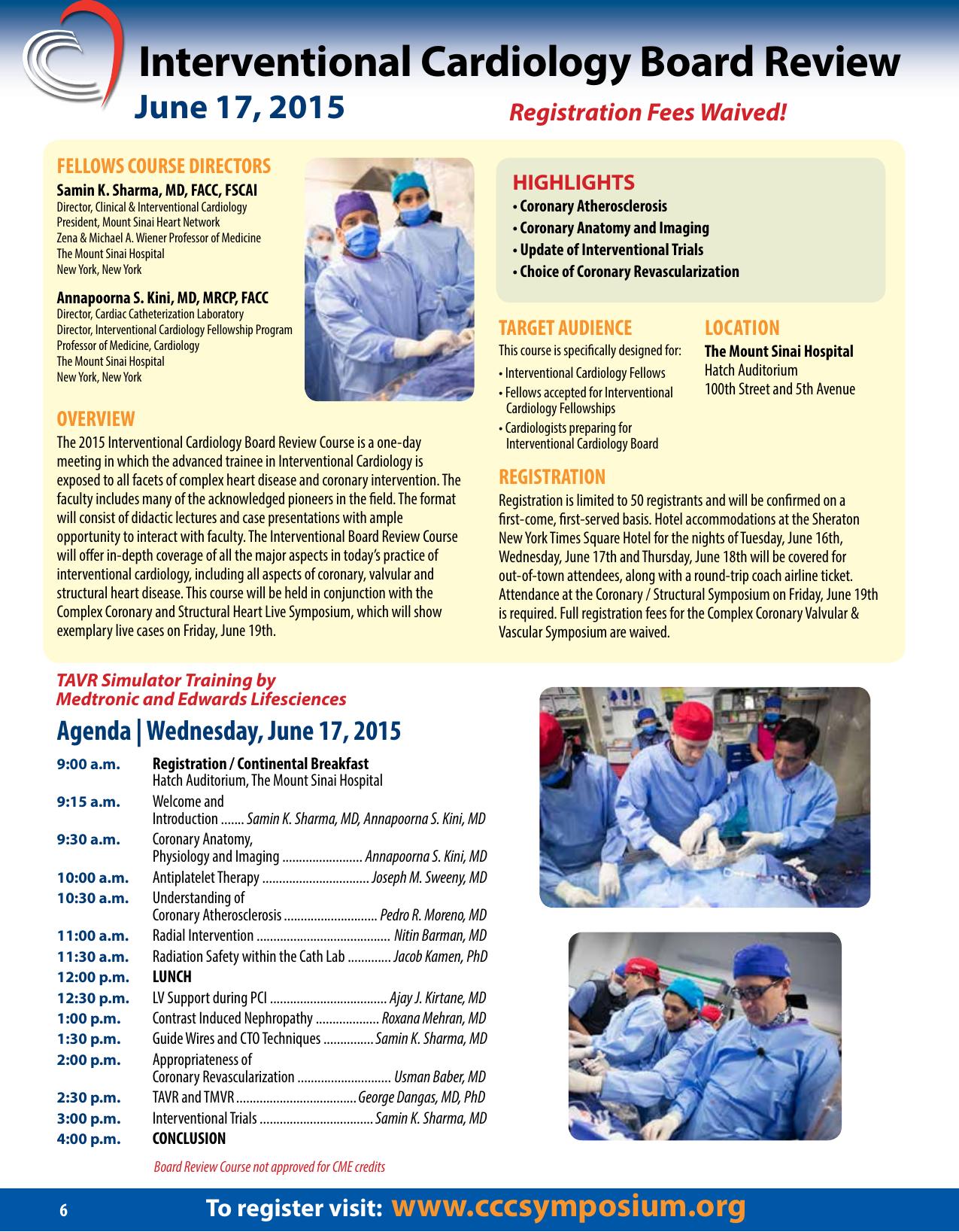 2015 CCVVC Brochure