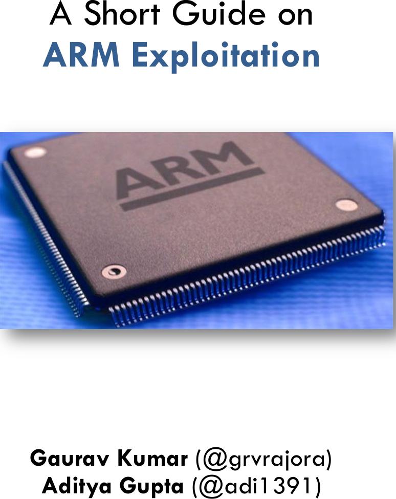 24493 a short guide on arm exploitation