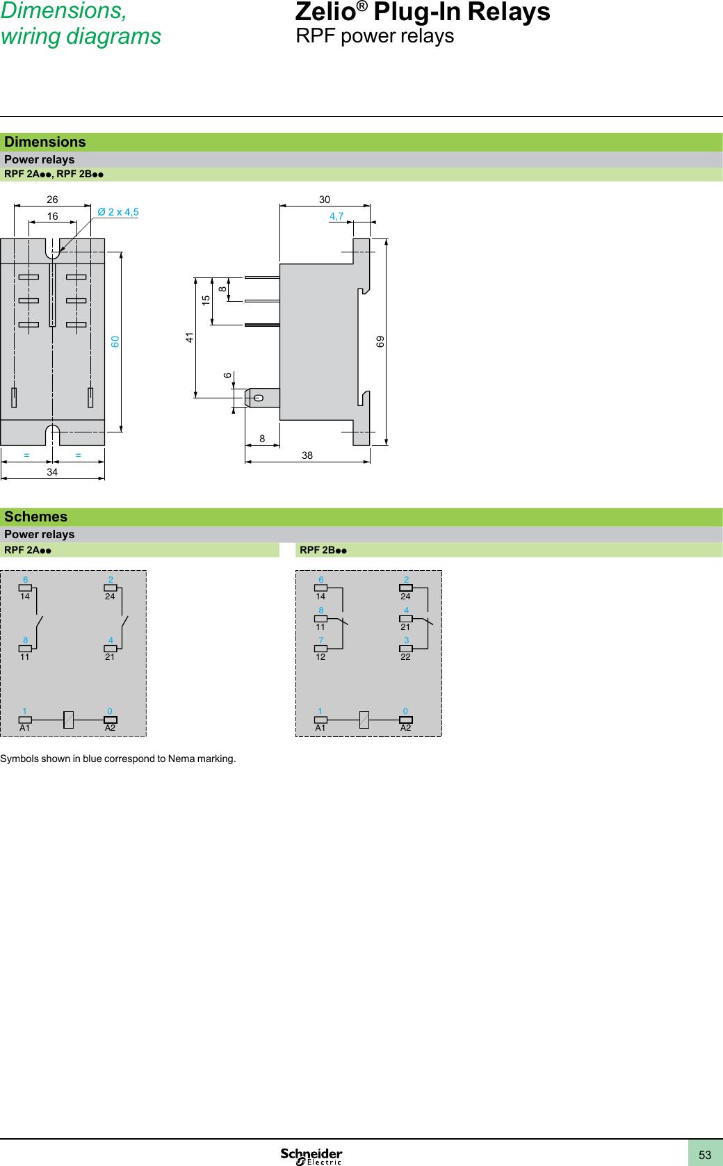 8 Pin Relay Wiring Schematic Ruzc2m Schneider    Wiring Diagram