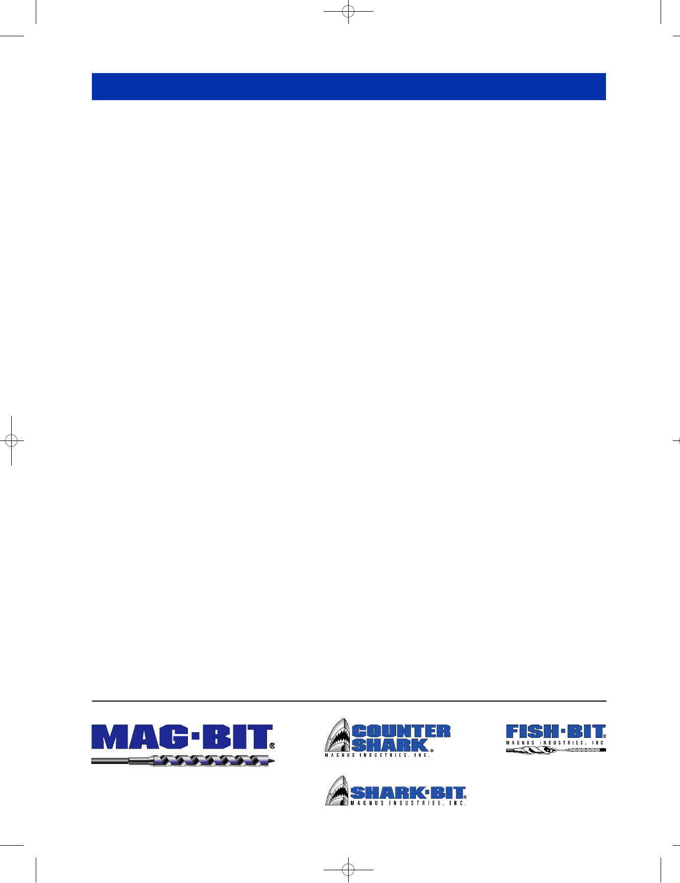 MAGBIT 792.1816 MAG 792 1-1//8-Inch by 6-Inch Spade Bit Magnus Industries Inc.