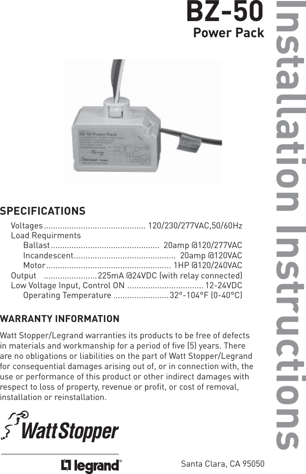 Bz 150 Power Pack Wiring Diagram