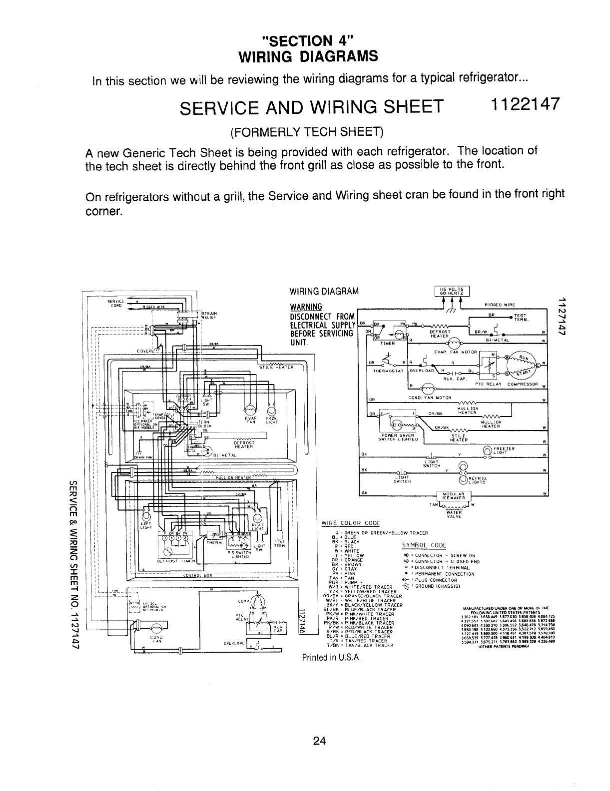 4314066b Whrlpl Basic Refrigeration Diagnosis R 65 Ptc Relay Refrigerator Wiring Diagram Sur