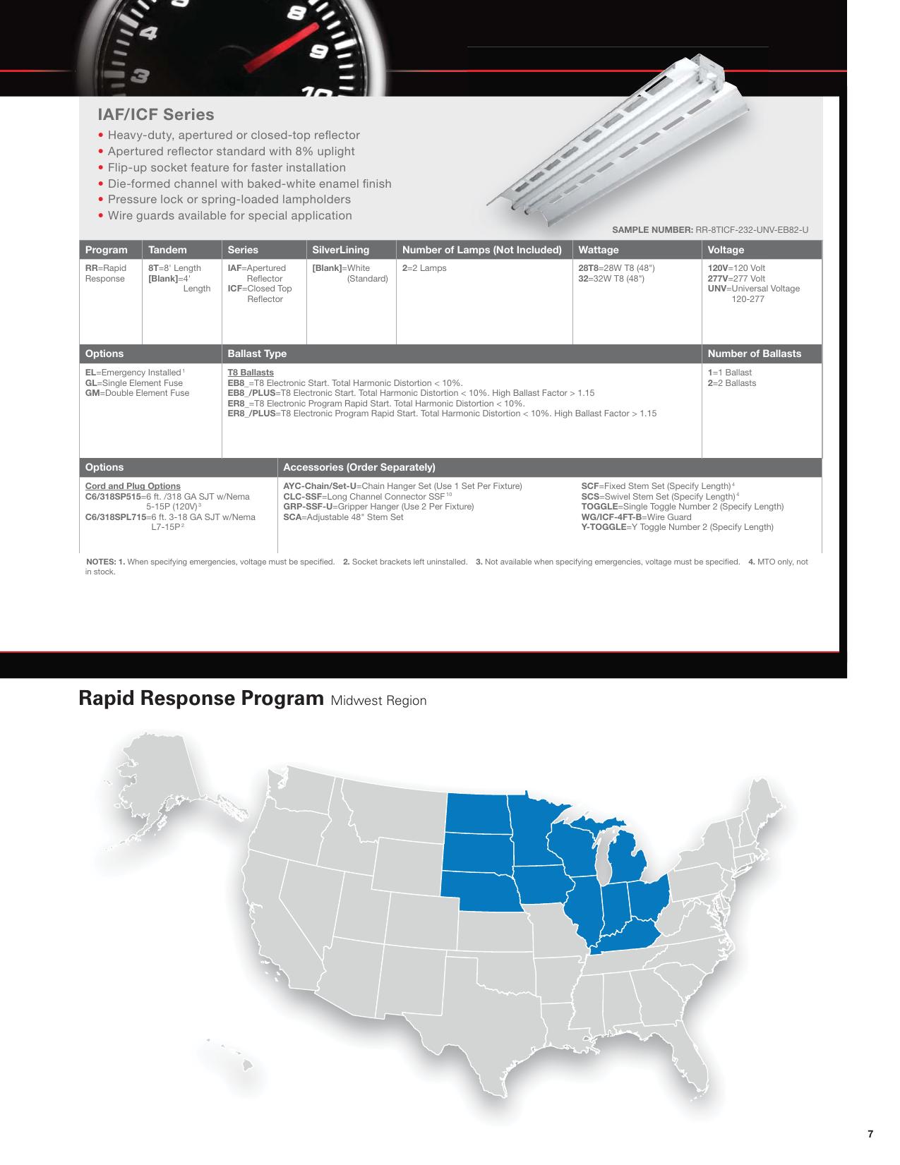 Rapid Response Program Midwest Region Brochure on