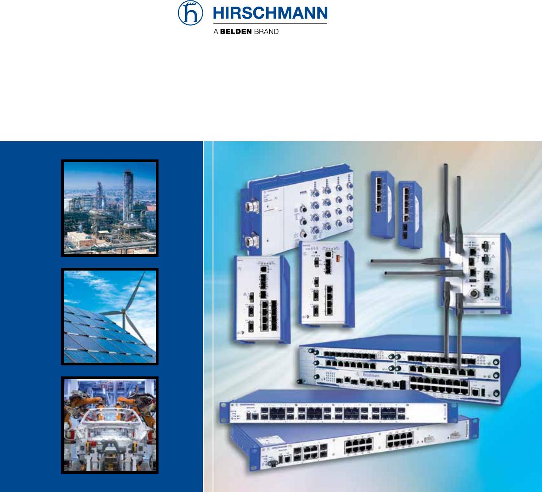 Automatyka, napędy i silniki HIRSCHMANN BELDEN MIPP-01-007 MOD IND PATCH PANEL