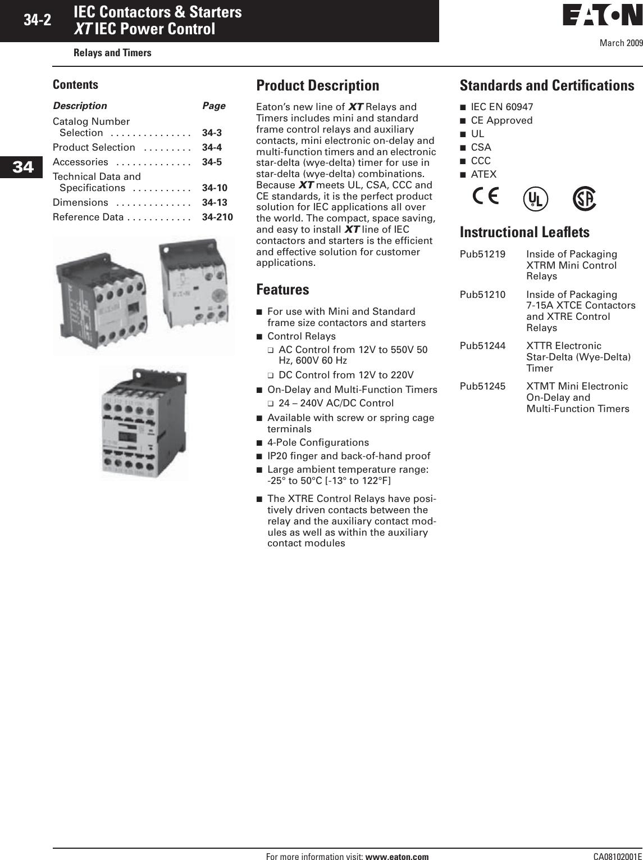 NIB CUTLER HAMMER A307SN MANUAL MOTOR PROTECTOR 3.50-5.00 FLA AMP 85+ IN STOCK