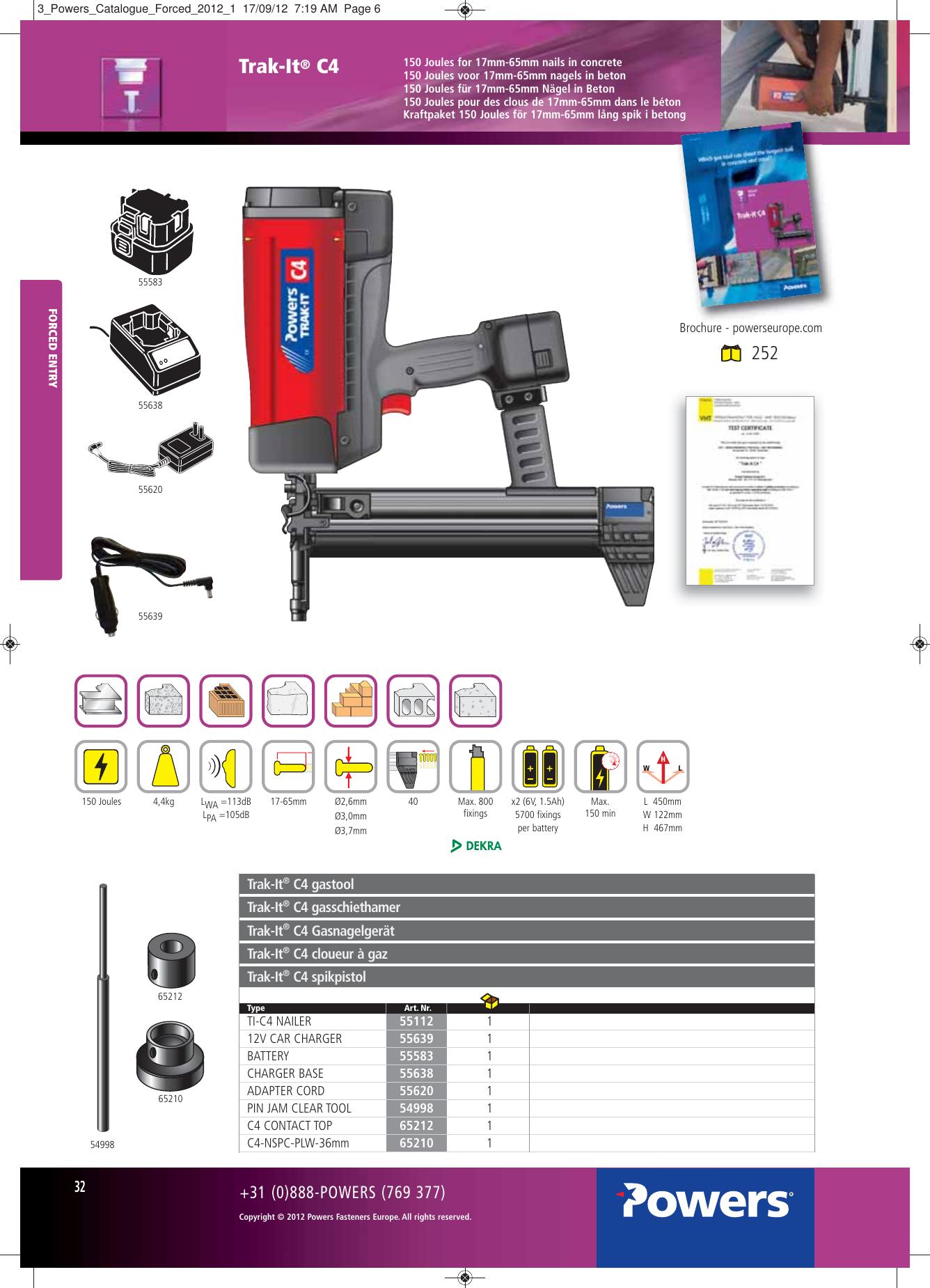 Sthor 23400/ /Foret pour ma/çonnerie SDS Max 35/x 600/mm