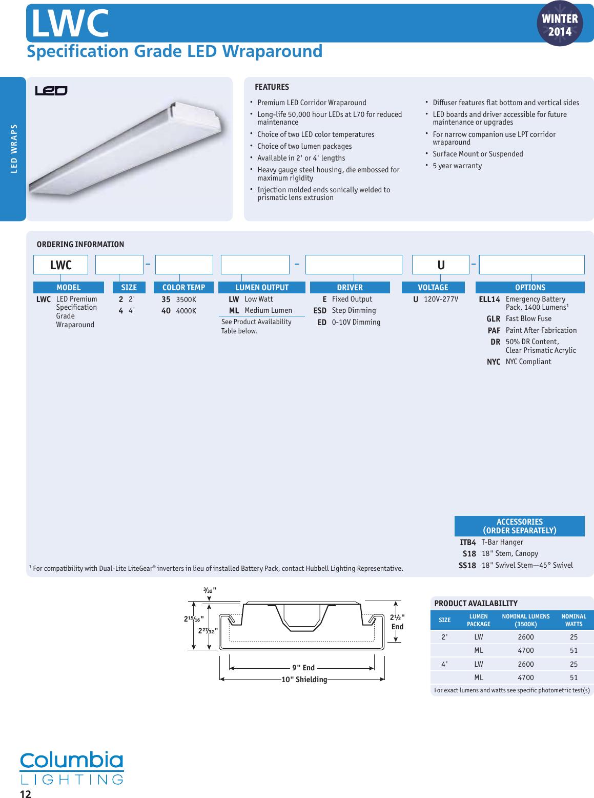 "Kim Lighting SM18//WH-P Stanchion Mount 3/"" Diameter with 1//2/"" NPSM fixture mount"