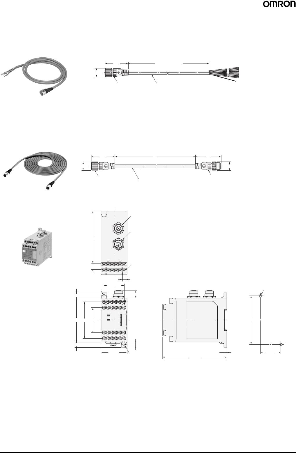 Omron f3sj safety light curtain datasheet 80 safety light curtain type 4 f3sj ver 2 fandeluxe Images