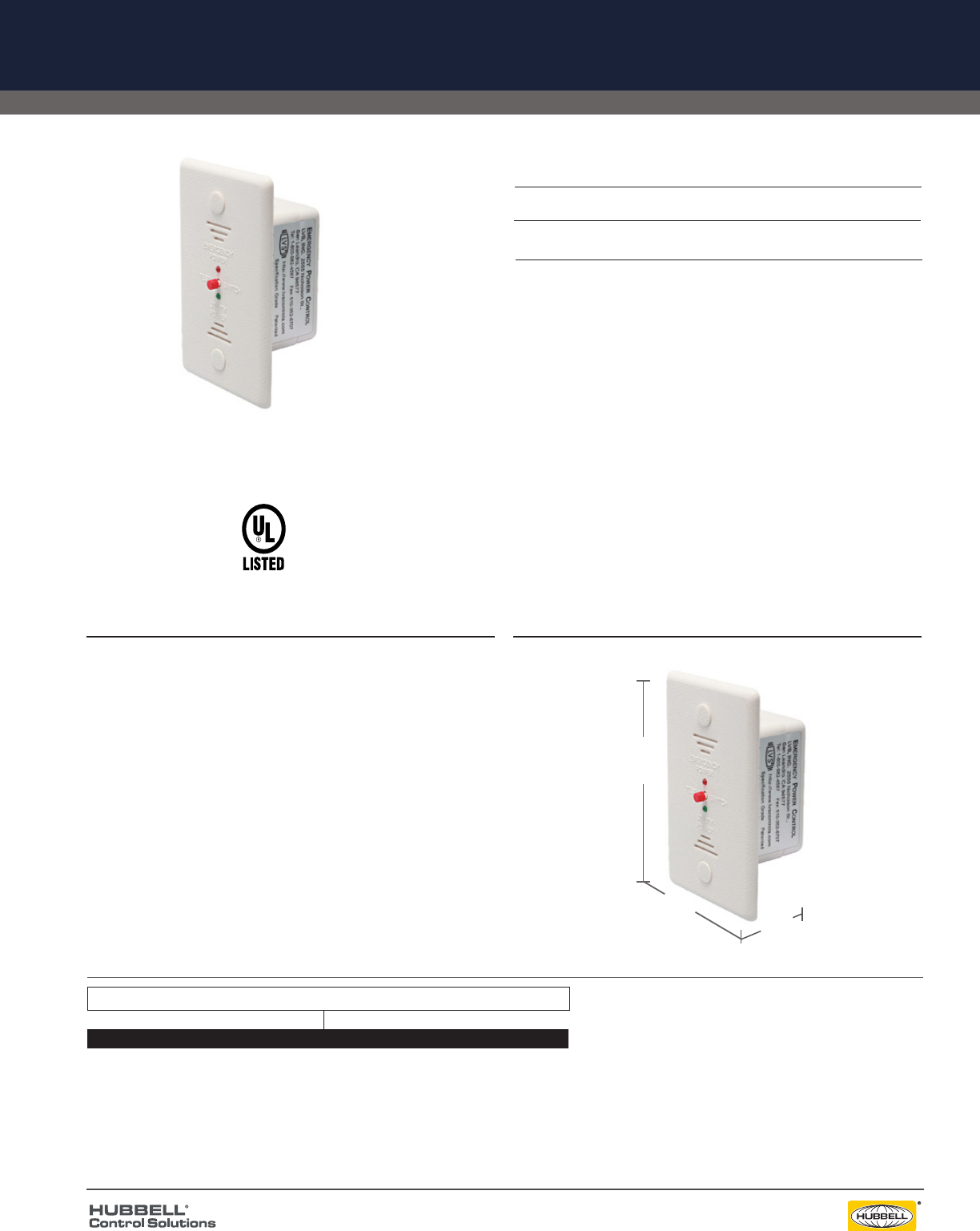 6004A UL 924 Flush Mount Emergency Load Control Relay on ul 924 transfer relay, rib relay diagram, ul 924 bypass relay,