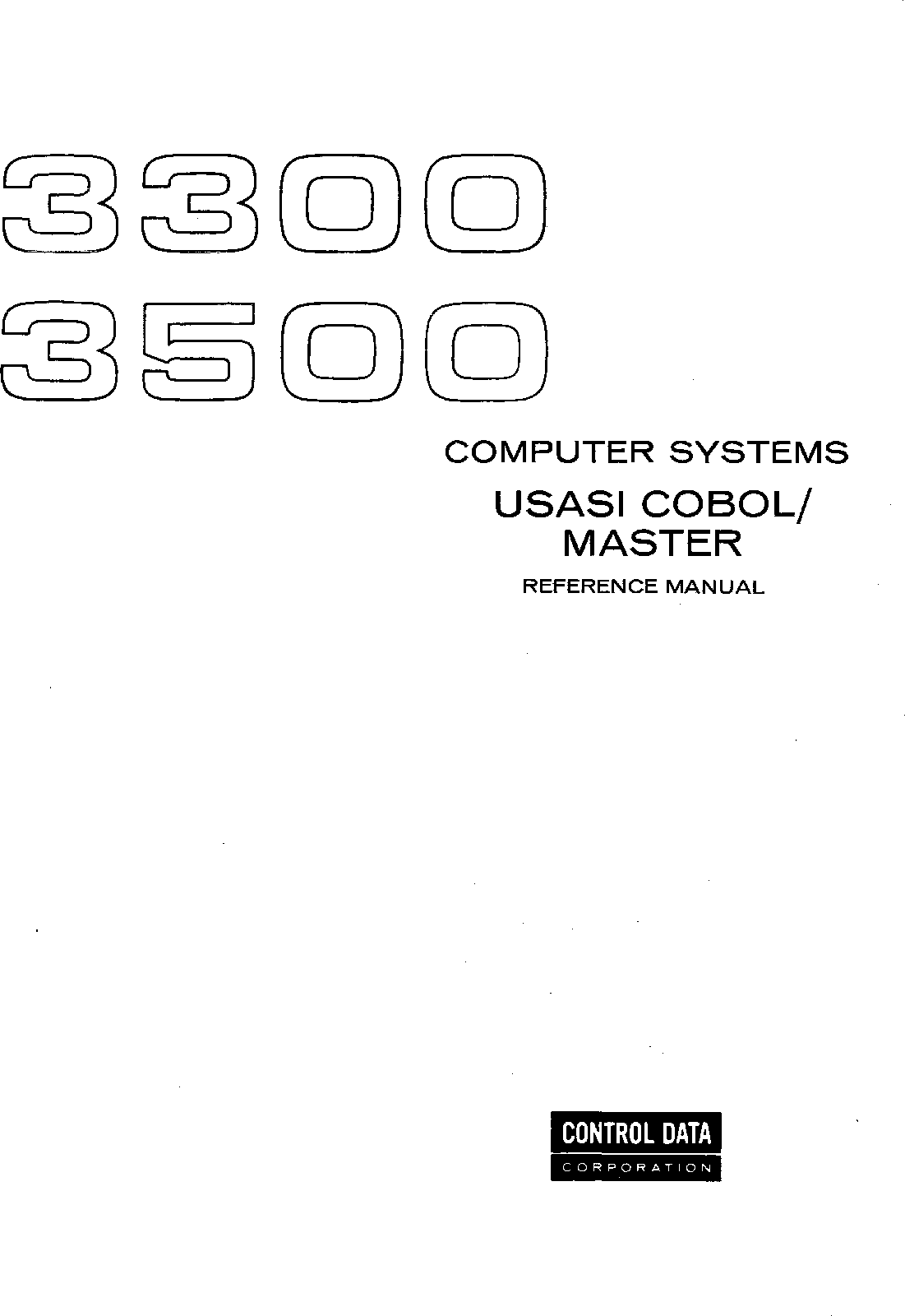 60229400_3300_COBOL_MASTER_Feb69 60229400 3300 COBOL MASTER Feb69