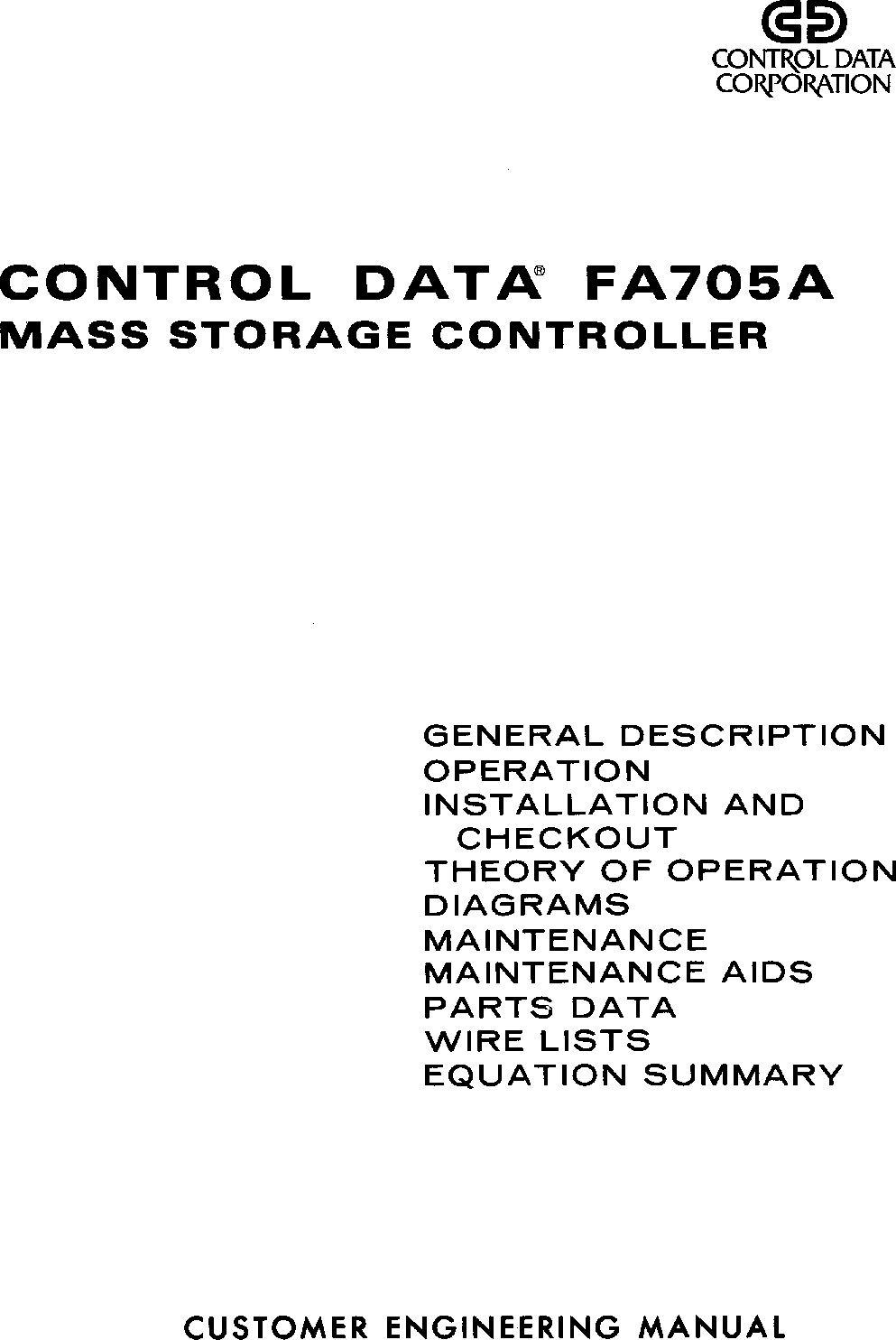 60290000S_FA705A_Mass_Storage_Controller_CE_Manual_Aug1976