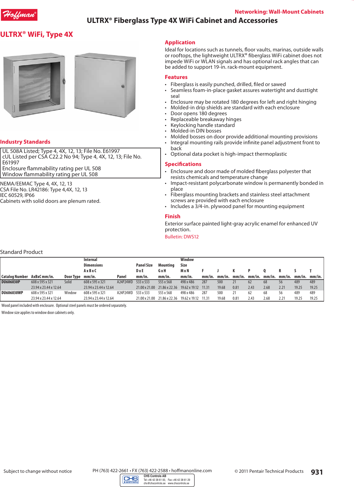 Specifiers Guide Chapter 9 60868 Catalog