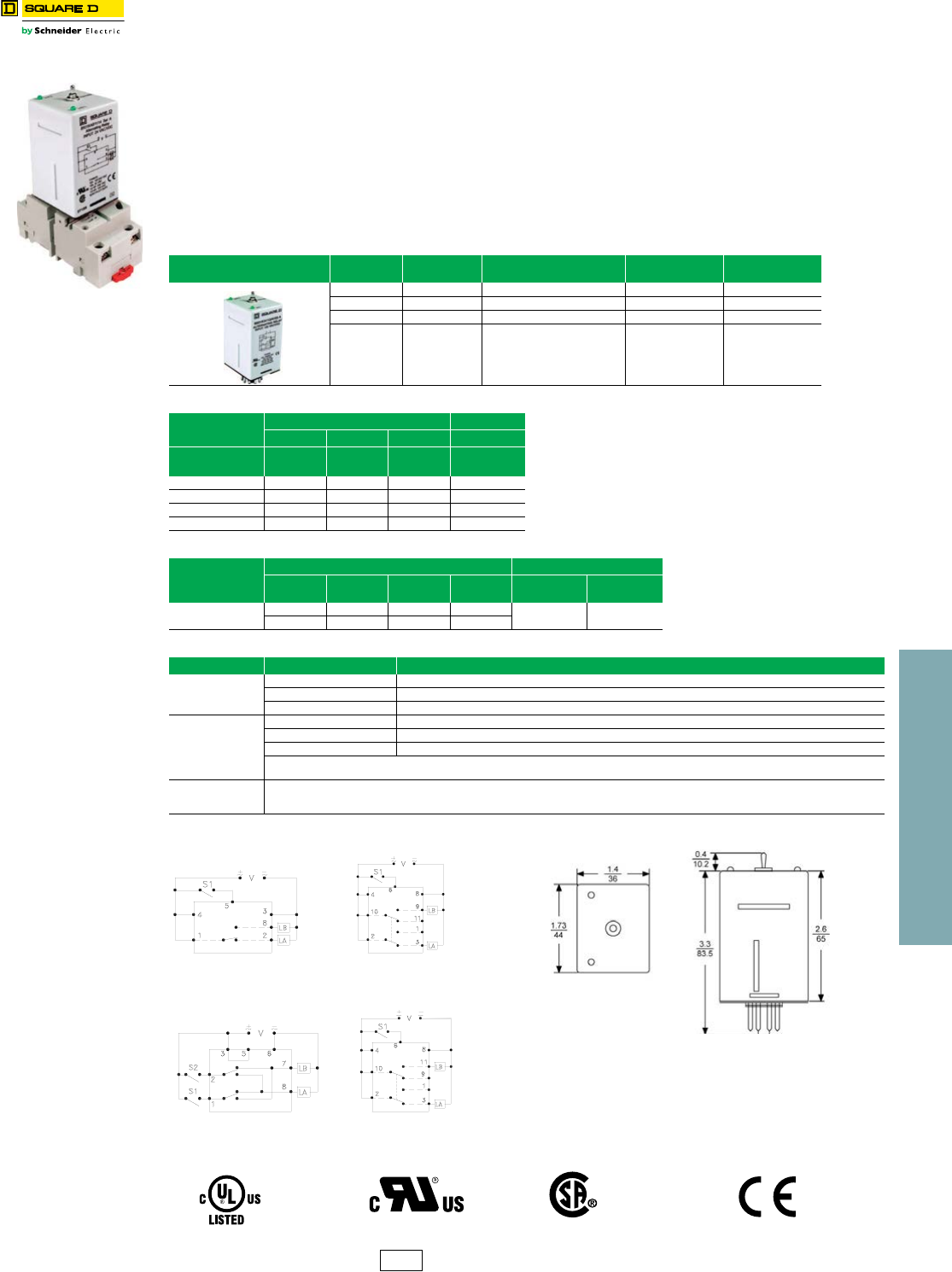 Product Detail Manual Schneider Electric Relay Pdf 23 Relays And Timers