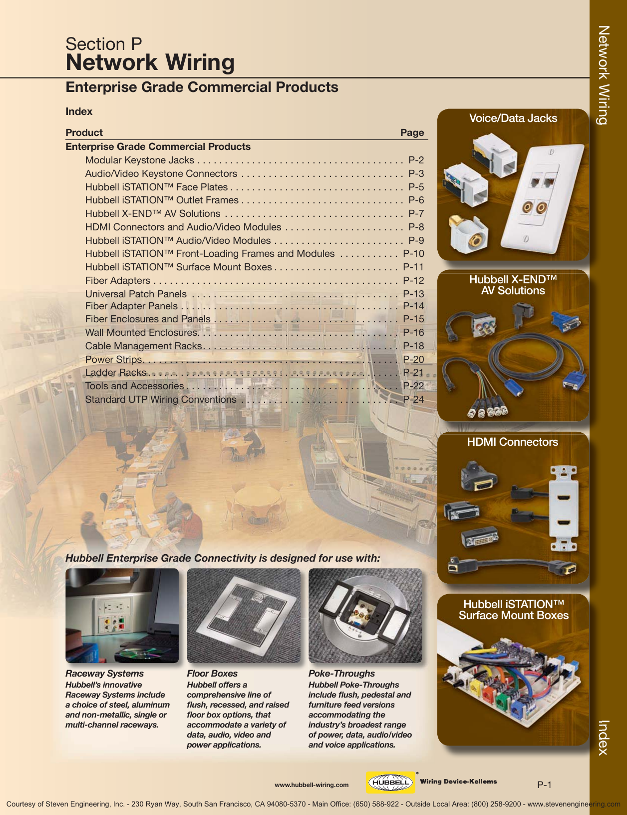 Hubbell Wiring Devices Kellems Catalog Flush Mount Output Jack