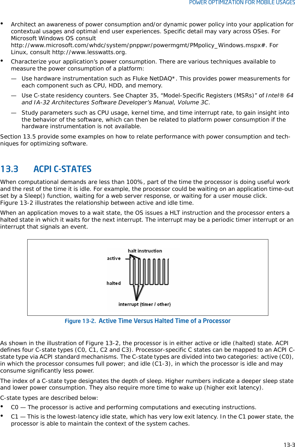 Intel® 64 And IA 32 Architectures Optimization Reference Manual