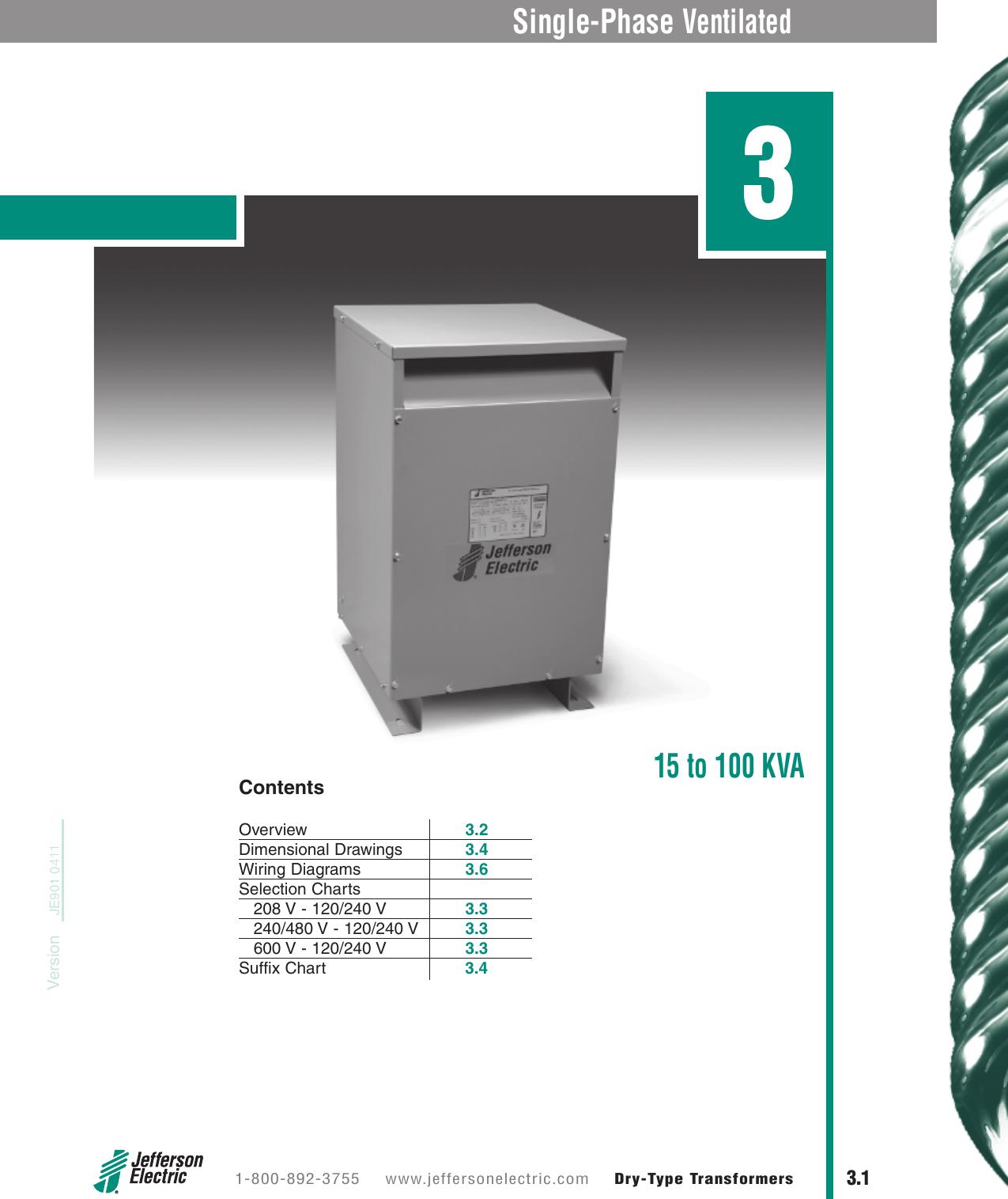 Sec00 B 00 Toc 480 120 Volt Wiring Diagram