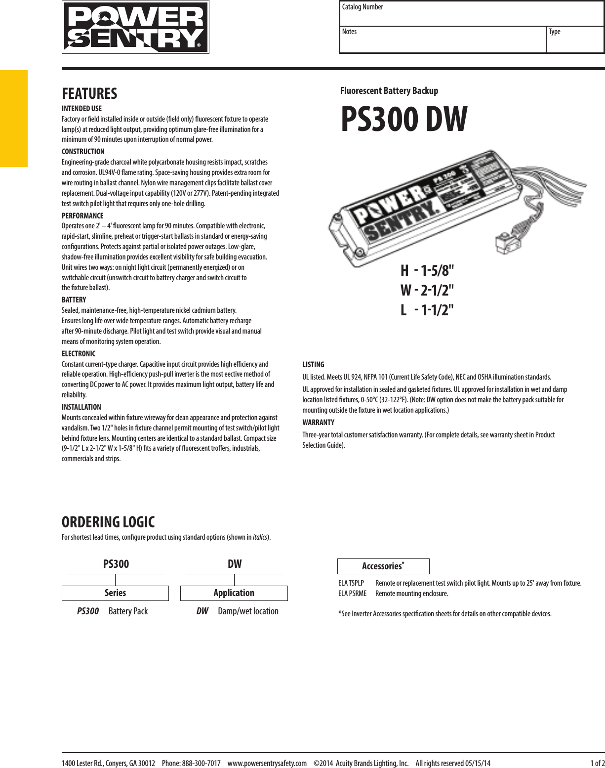 Wiring Diagram Power Sentry Ps300 Power