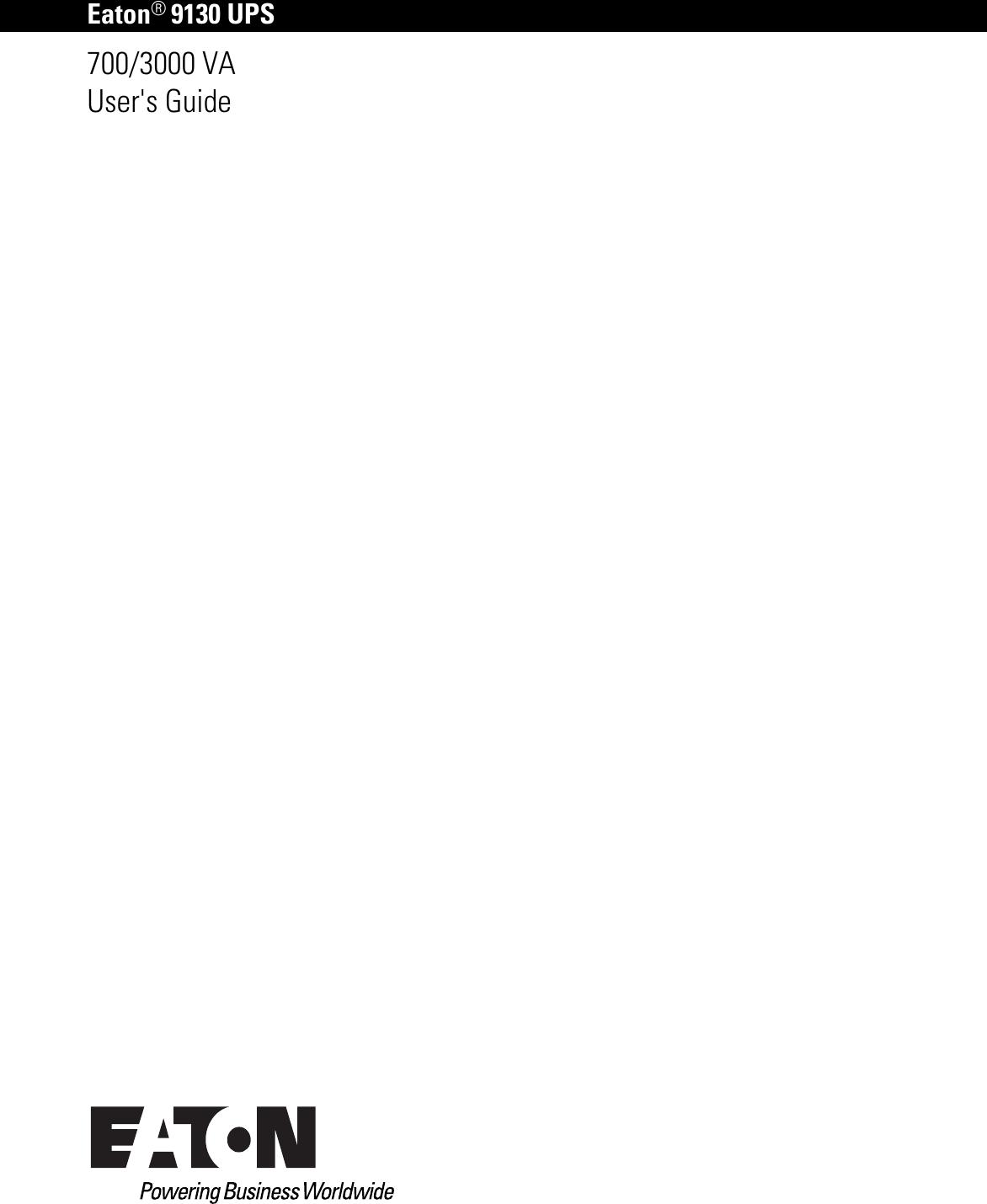 Eaton 9130 Wiring Diagram Electrical Diagrams 700 3000 Va Ups Users Guide 691978 Installatioun Sheet Hmmwv