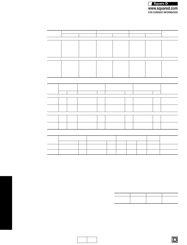 Sq D FC34060 60A 3P 240//480V I-Line circuit breaker