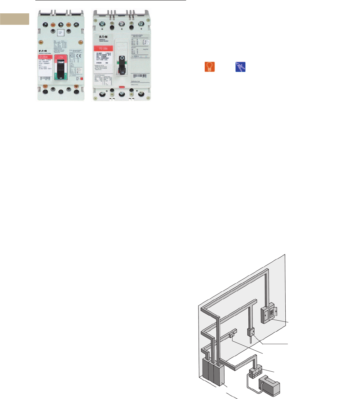 Volume 4 Tab 2 76301 Catalog Circuit Breaker Used Cutler Hammer Ed3150 150 Amp V4 T2 4circuit Protection Ca08100005ejune 2014 Eatoncom
