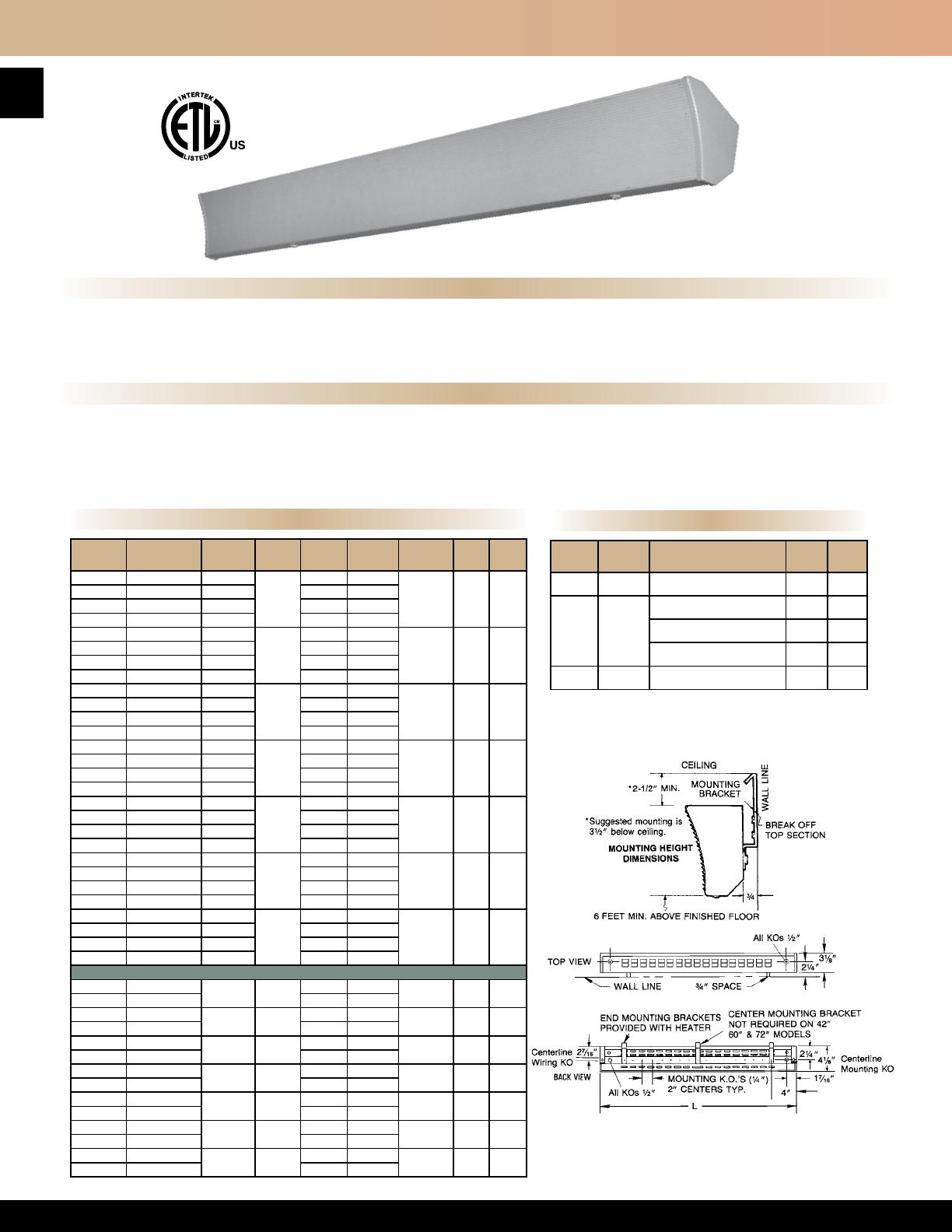 TPI HLPM37 Pipe Mounting Bracket Kit for Series HLA 3-7.5 Kw Hazardous Location Fan Forced Unit Heater TPI Corporation