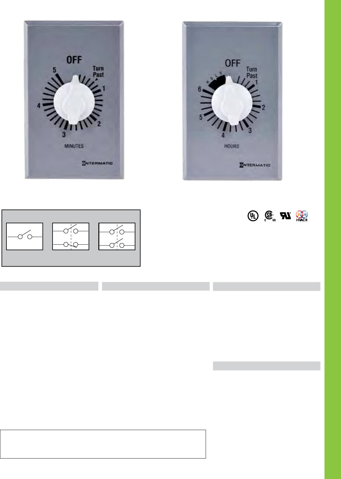 Tools & Home Improvement Intermatic INT FD30MH 30MIN SPR WND TIMER ...