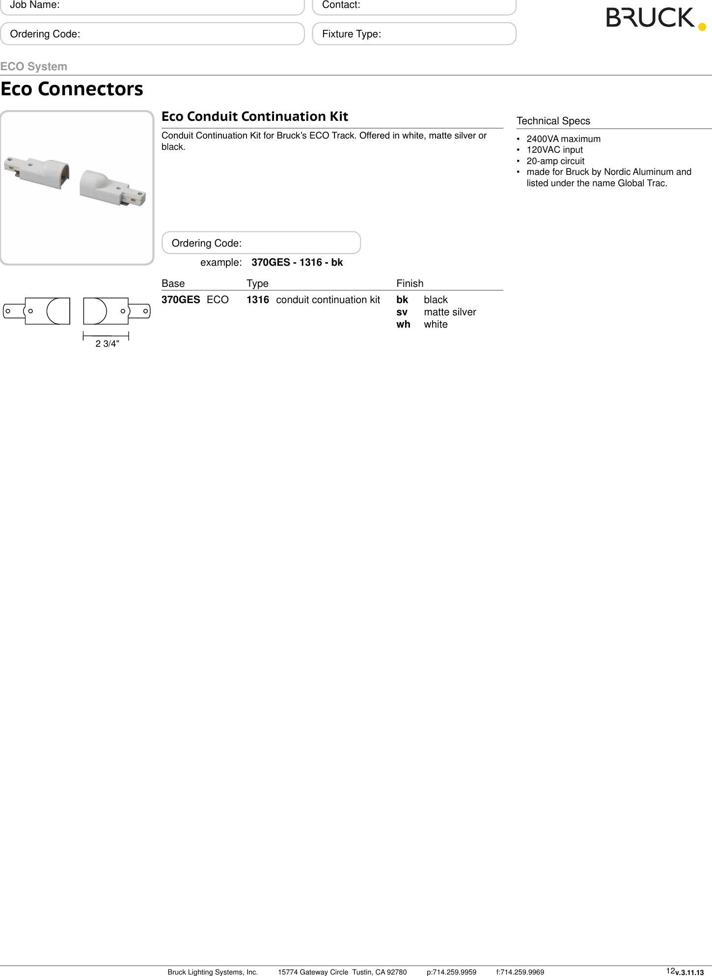Lightolier 9147BK Lytespan Track Lighting Radius Live End Matte BLACK boxed