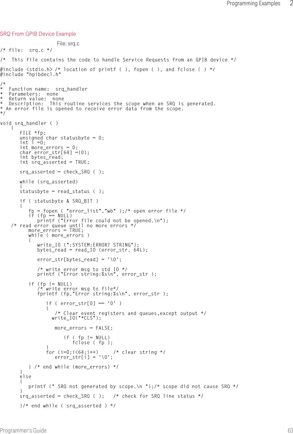 Book 86100 Programming Guide