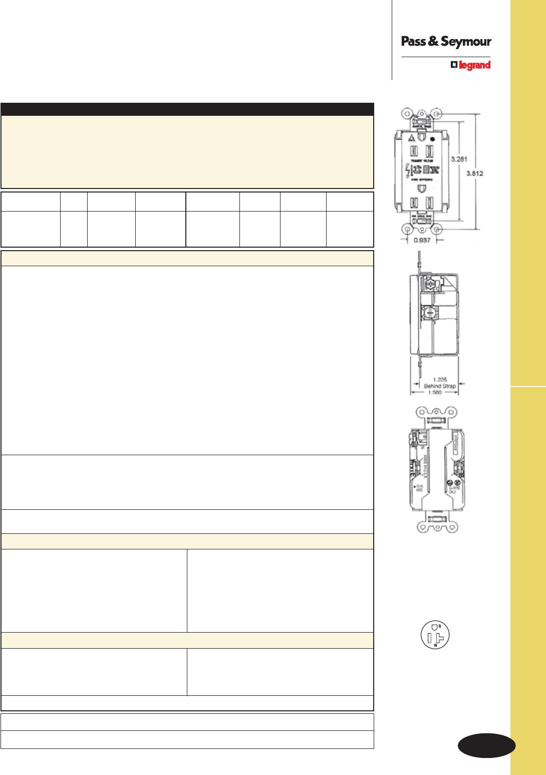 94433 Catalog Details Of Nema L1430p To 615 20r Plug Adapter 1 Foot 20a 250v 5 U 75