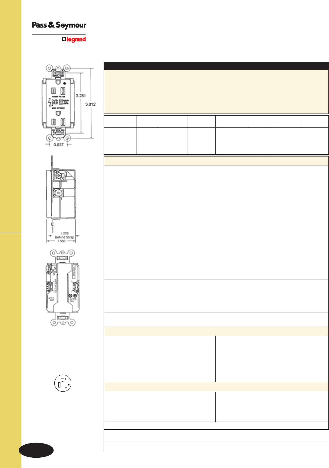94433 Catalog Details Of Nema L1430p To 615 20r Plug Adapter 1 Foot 20a 250v U 76