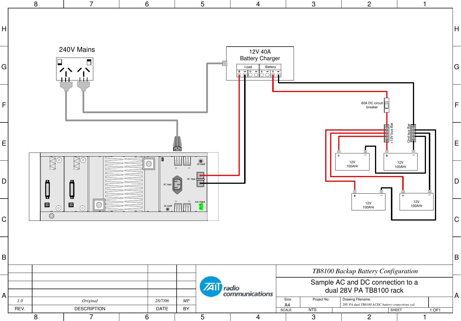 AN022 01 Site Battery Charging TB8100 Tech Notes/Job
