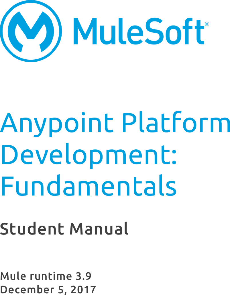 APDev Fundamentals3 9 Student Manual 10jan2018