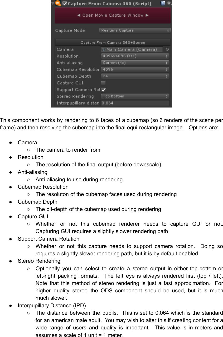 AVPro Movie Capture User Manual