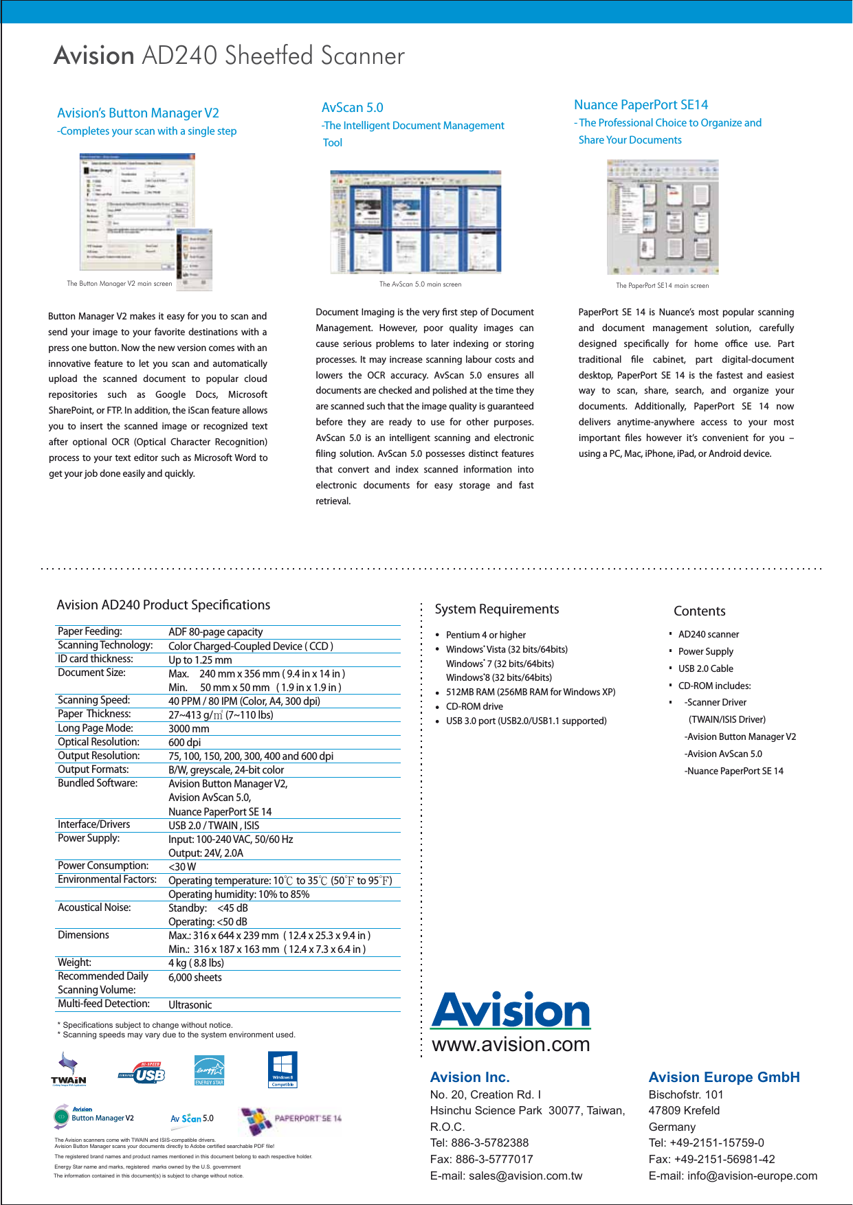 Ad240 ENG User Manual