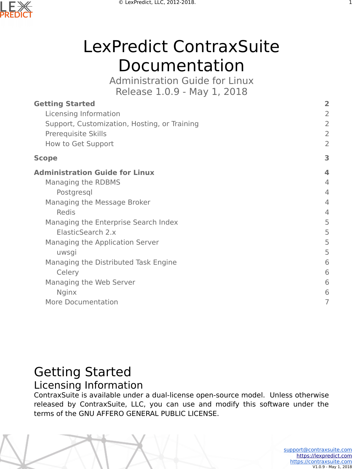 Administration Guide For Linux