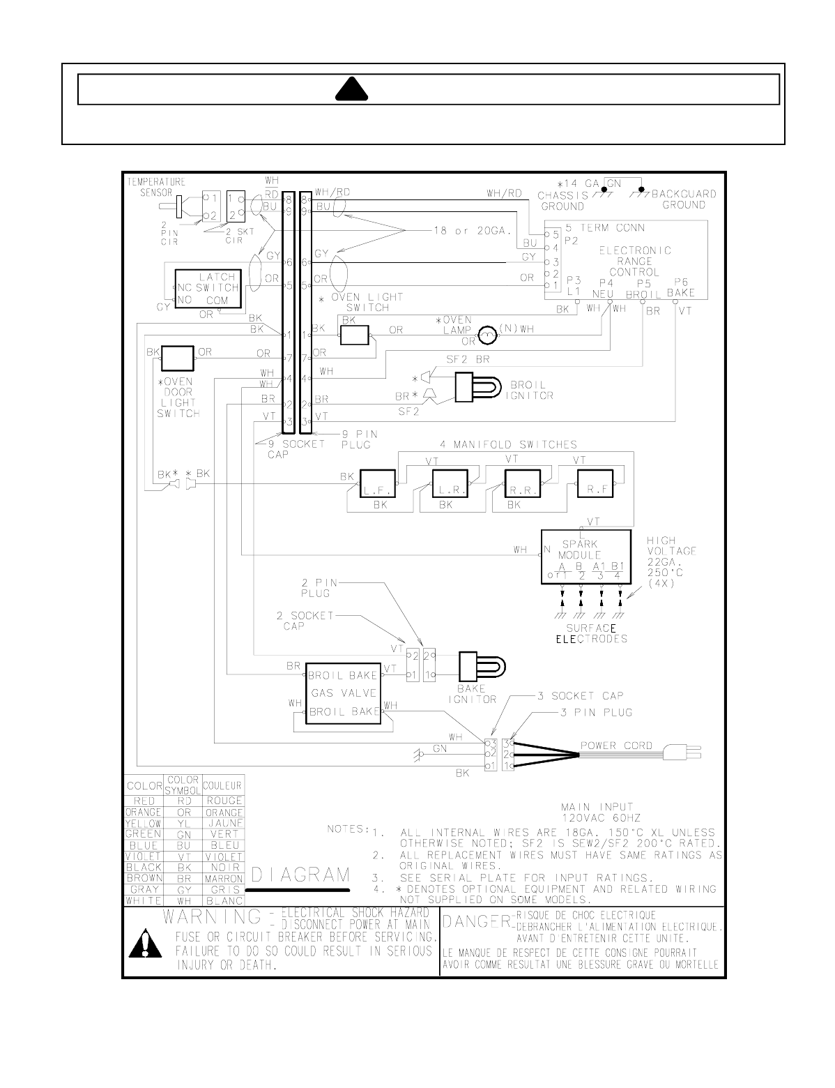 T231 5r6 Amana Self Clean Gas Oven Arg7102 Baking Wiring Diagram And Schematic