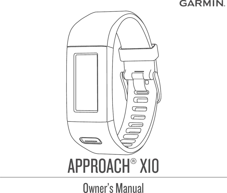 Approach X10 User Guide OM EN