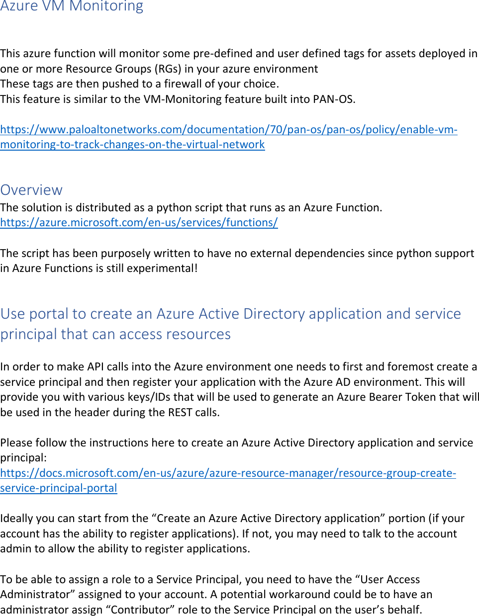 Azure VM Monitoring Setup Instructions