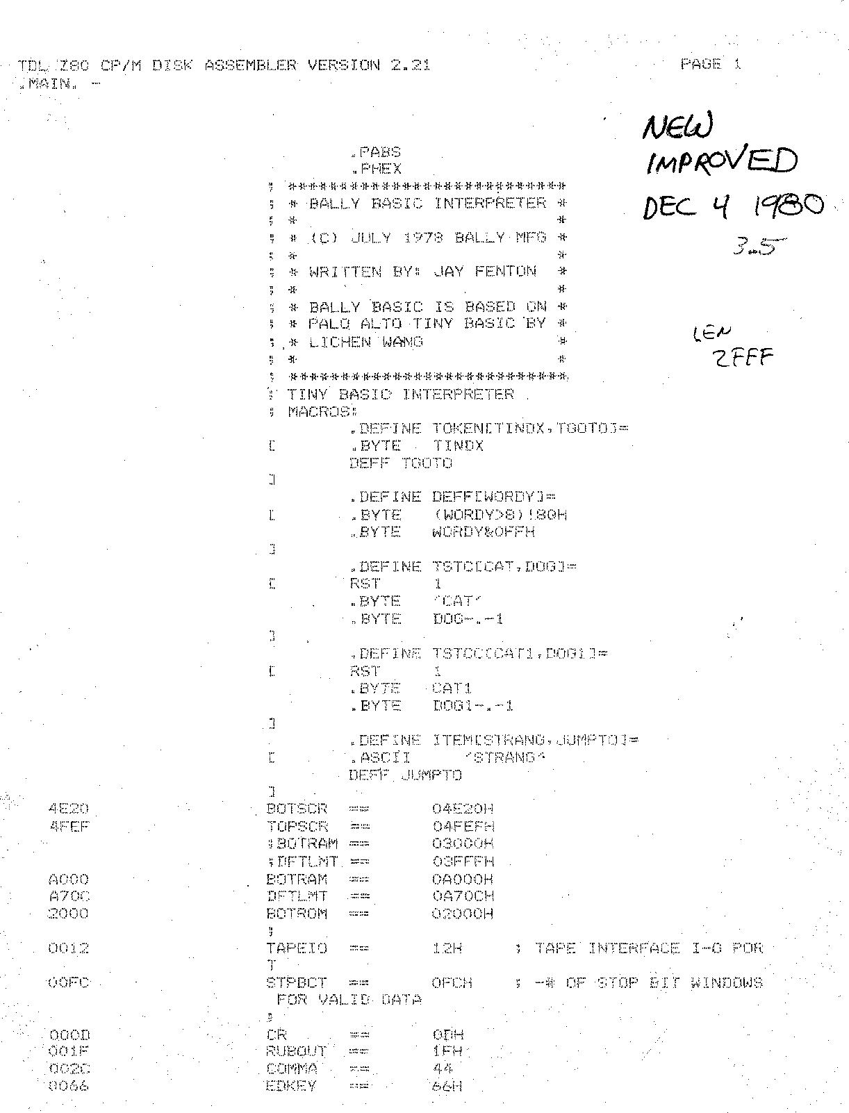 Bally_BASIC_3 5_19801204 Bally BASIC 3 5 19801204