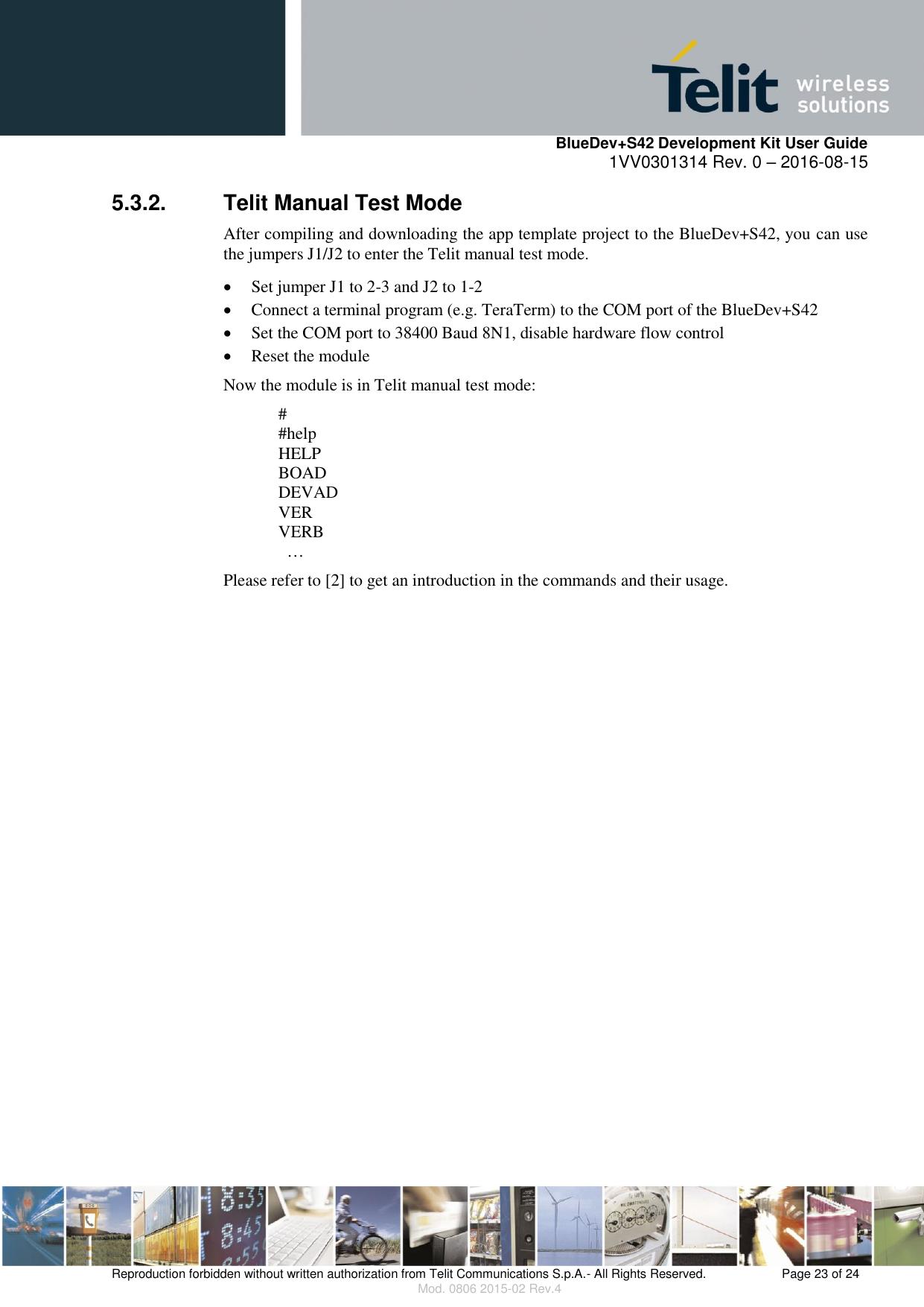 Development Kit User Guide Blue Dev+S42 R0