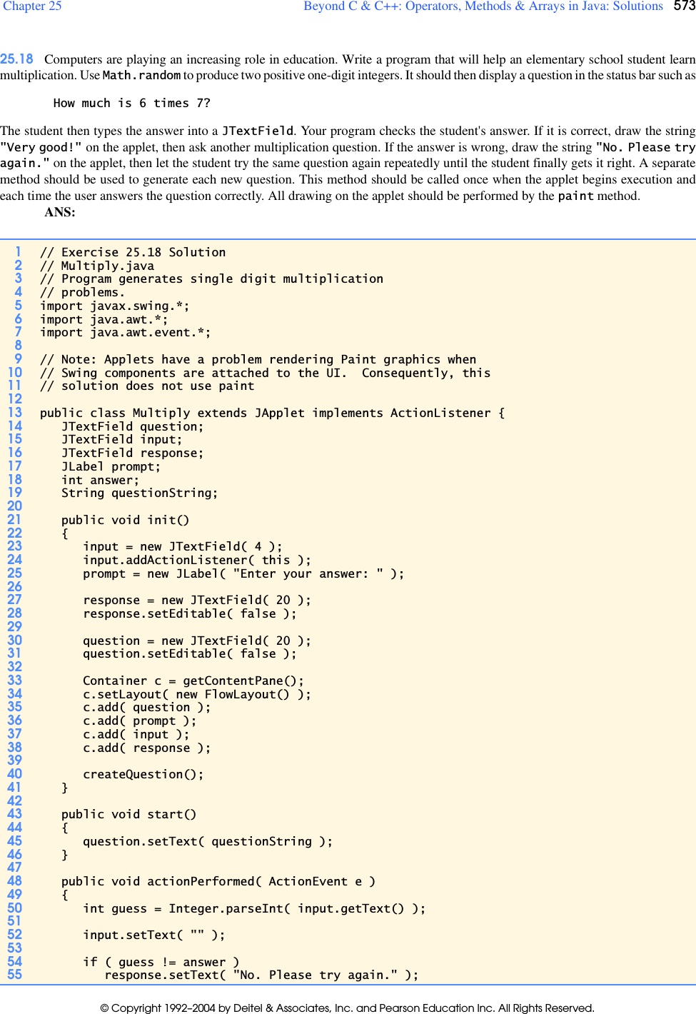 Chtp4IM(chtp4_01) C How To Program Solution Manual