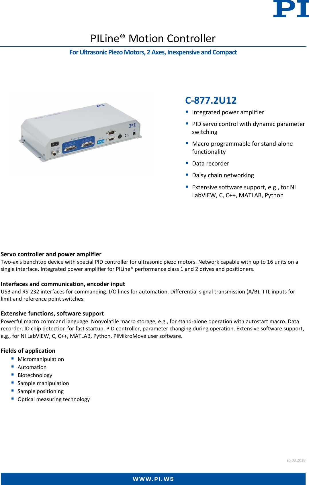 C 877 2U12 Datasheet