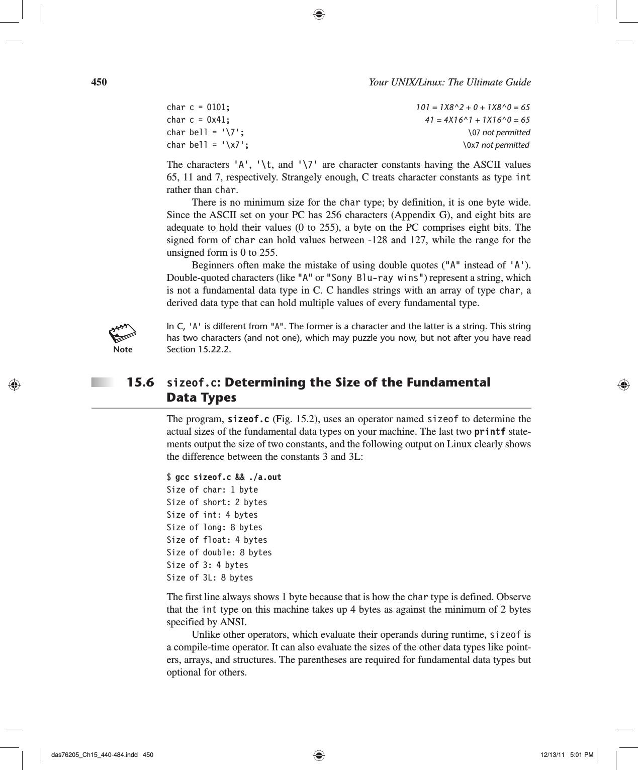 CSCE 215 Unix Ultimate Guide 3E