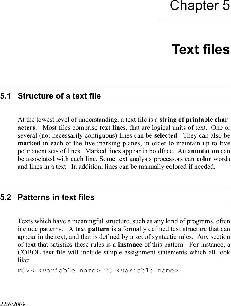 DB MAIN Reference Manual