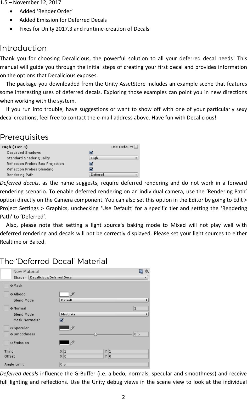 Decalicious Manual