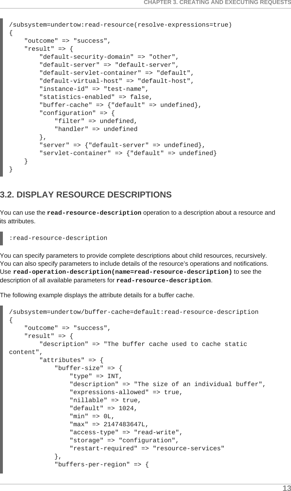 Red Hat JBoss Enterprise Application Platform 7 0 Management CLI