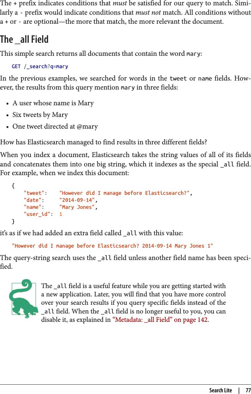 Elasticsearch: The Definitive Guide ELASTICSEARCH